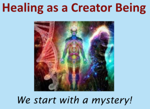Healing As A Creator Being